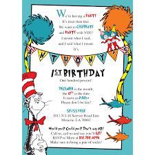 dr seuss birthday invitations dr seuss birthday invitations blackline