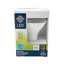 brighton professional 65w equiv led dimmable flood light bulb