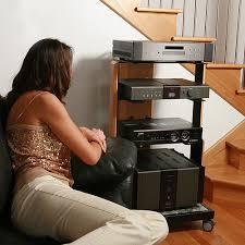 Audio Video Equipment Racks Azindus Creating Exquisite Audio Visual Furniture
