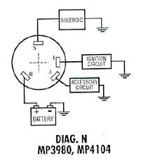 4 pin ignition switch circuit diagram i will give an example