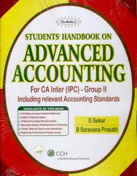 padhuka u0027s student handbook on advanced accounting for ca inter