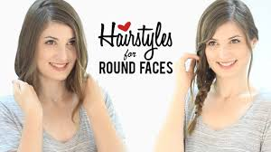 haircuts and hairstyles for round faces tips and tricks youtube