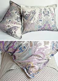 Gray Paisley Duvet Cover Bohemian Paisley Duvet Quilt Cover Light Purple Boho Chic 100