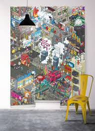 tapisserie chambre ado impressionnant papier peint chambre ado fille avec cuisine papier
