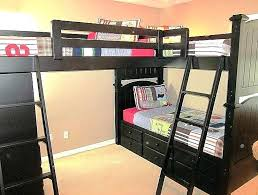 Loft Bed With Crib Underneath Loft Bed For Bunk Bed Toddler Mattress With Crib Underneath