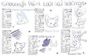 paint tool sai full version every brush by icrescent on deviantart