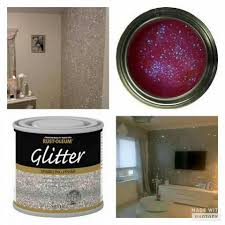 glitter on the walls how cool is that home decor u0026 home ideas