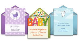 smurfs baby shower invitations free baby shower online invitations punchbowl