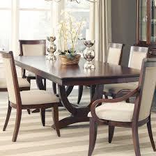 dining room furniture orlando coaster alyssa trestle dining table in dark cognac best priced