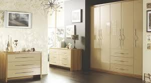 B Q Bedroom Furniture Offers Designer Cappuccino Gloss Modular Bedroom Furniture Contemporary