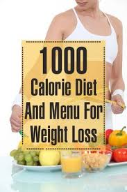 the 1000 calorie diet plan for weight loss 1000 calorie diets