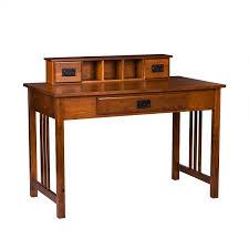 Sauder Graham Hill Computer Desk With Hutch Autumn Maple by Amazon Com Southern Enterprises Francisco Writing Desk 45