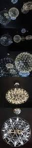 retro chandeliers spherical multi led bulbs fireworks metal loft retro ball shade