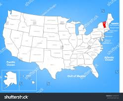 World Map Of The United States by Vermont Map Usa Vermont State Maps Usa Maps Of Vermont Vt