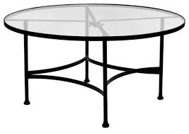 Wrought Iron Patio Side Table With Umbrella  Wrought Iron Patio - 60 inch round wrought iron outdoor dining tables
