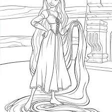 free disney princess free tangled coloring pages gianfreda net