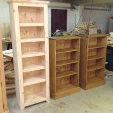 Made Bookcase Pine Bookcases Derbyshire Hand Made Bookcase Leicestershire