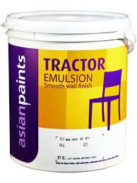 emulsion paint colours tractor emulsion asian paints at rs 165 litre emulsion paint