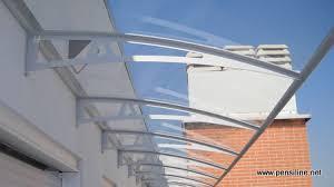 pensilina tettoia in policarbonato plexiglass pensiline net pensiline in policarbonato