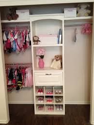 Baby Closet Organization Ideas Baby Girls Closet Bought Closet From Lowes U0026 Had To Do A Little