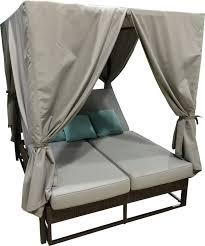 hospitality rattan soho patio daybed with cushion u0026 reviews wayfair