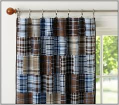Blue And Brown Curtains Enchanting Blue And Brown Kitchen Curtains Ideas With Blue And