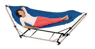 aldi stores u2014adventure ridge foldable hammock with stand product