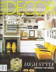 Home Decorating Magazines by In The Press Krb