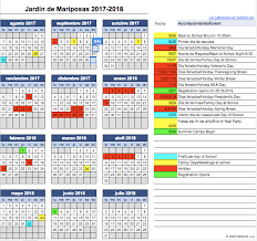 calendar jardin de mariposas