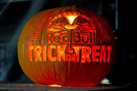 bmx halloween session at red bull trick or treat