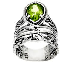 B And Q Christmas Window Decorations by Sterling Silver Pear Shaped 1 00 Ct Gemstone Band Ring By Or Paz