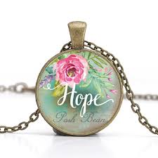 aliexpress vintage necklace images Love hope dream faith believe wish vintage necklace antique bronze jpg