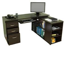 L Shaped Computer Desk With Storage L Shaped Computer Desk With Keyboard Tray Batimeexpo Furniture