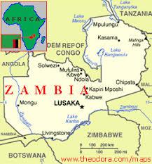 map of zambia zambia maps economy geography climate resources