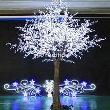216 led 80cm high artificial white cherry blossom trees dongyi