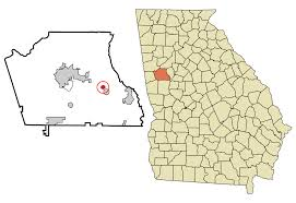 Georgia Zip Codes Map by Sharpsburg Georgia Wikipedia