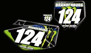 custom motocross jersey kawasaki number plates nineonenine designs