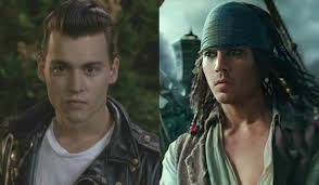 pirates caribbean 5 turned johnny depp young