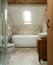 Shower Comfort Stone Tile Bathroom Designs Elegant Dark Oak Master Bath Design