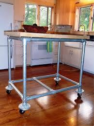 kitchen island stainless updated custom rolling kitchen islandhome design styling
