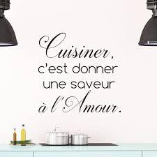 citation sur la cuisine sticker citation cuisine cuisiner c est donner une saveur