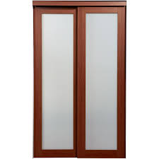 interior french doors frosted glass shop reliabilt 1 lite frosted glass sliding closet interior door