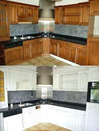 repeindre une cuisine en chene repeindre une cuisine en bois maison design repeindre cuisine en
