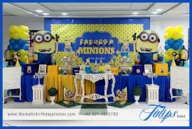 minion birthday party ideas minions themed birthday party decoration ideas in pakistan
