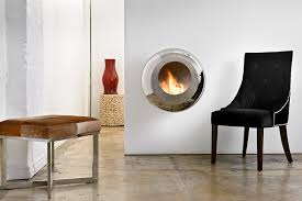 Home Depot Wall Mount Fireplace by Bioethanol Fireplace Contemporary Closed Hearth Wall Mounted