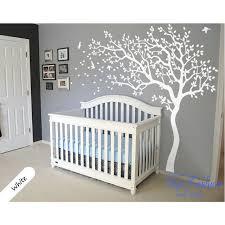 aliexpress buy white tree and birds wall decal nursery