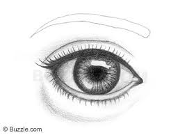 how to draw lively human eyes an easy step by step explanation