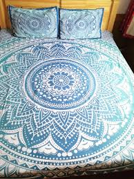 bohemian bed cover d boho mandala printing bed sheet with pillow  with bohemian bed cover d boho mandala printing bed sheet with pillow case  indian home decor bedspread tapestry wholesale hotin bedding sets from  home  garden  from aliexpresscom