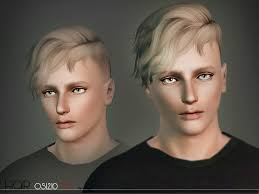 hairstyle punk skater cut 1980s male sims 3 hairstyles