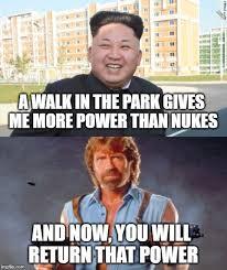 Chuck Norris Meme Generator - kim jong un vs chuck norris imgflip